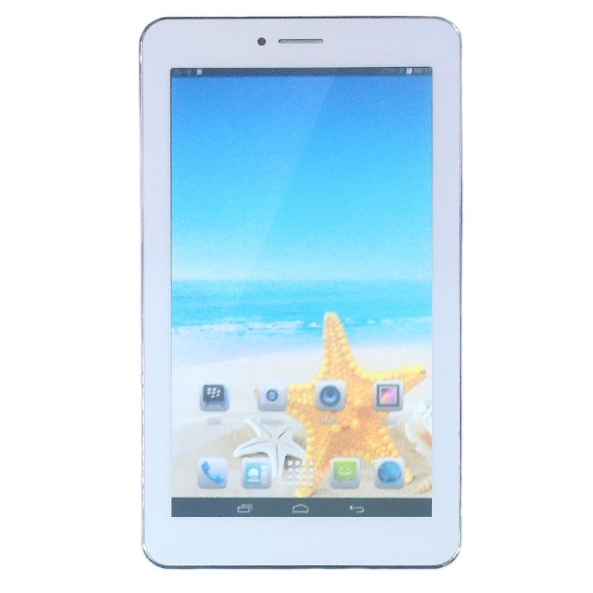 Advan Star Tab T1R - Dual Camera - 8GB - Putih