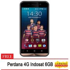 Advan Vandroid I4.4G LTE - 8GB - Gold + Gratis Perdana 4G Indosat