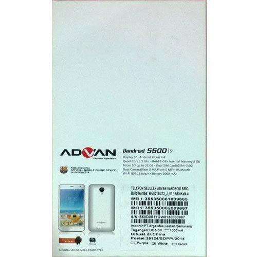 Advan Vandroid S50D - 8GB - Putih