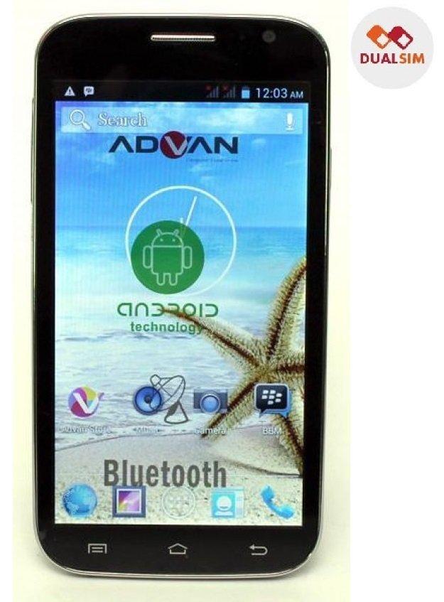 Advan Vandroid S5E - Dual SIM - TV - Merah
