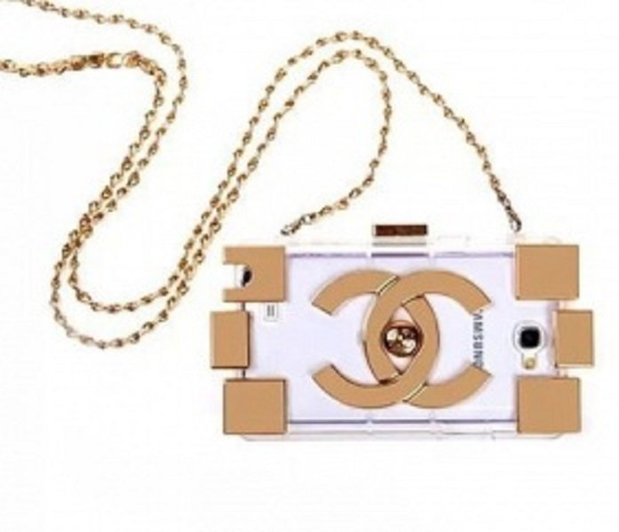 Aimeecuties Cover case Chanel Gold for Galaxy note 3 - Gold