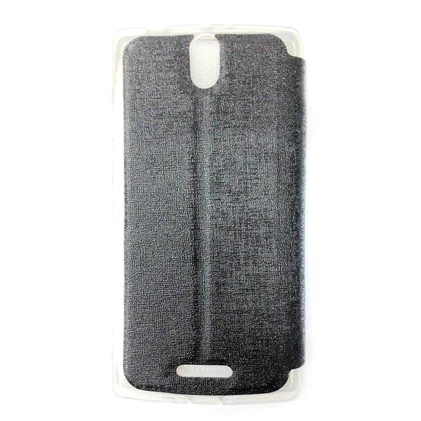 Aimi Leather Case Oppo Mirror 3 - Hitam