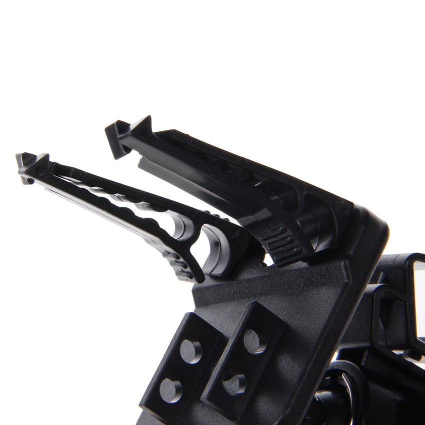 Air Outlet Mounted Navigator Support GPS Holder Stand for Car (Black) (Intl)