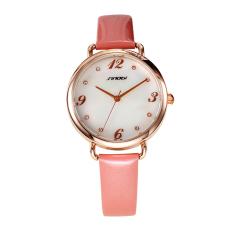 Aiweiyi Hot Sale Fashion SINOBI Women Dress Luxury Brand Watch Relogio Masculino Quartz Clock Wristwatch Big Number Watch Women Gift