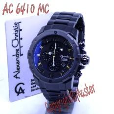 Alexandre Christie ACF-6410-MC Jam Tangan Pria Masterpiece Steel Sport (Black Dial Cream)