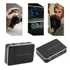 Allwin Game Video Capture HD 1080P HDMI YPBPR Recorder For Game Lovers UK Plug Black (Intl)