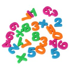 Allwin Kid Plastic Fridge Magnet Alphabet 26 Letters Child Baby Educational Toy - Intl