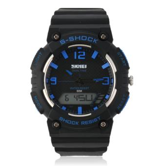 Allwin SKMEI Fashion Men'S Casual Digital Wristwatch Popular Military Sports Watches