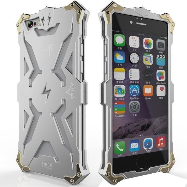 Aluminum Phone Thor Series Aviation Metal Case for Apple iPhone 5 /5s Plus (Silver) (Intl)