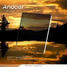 Andoer Gradual Graduated Neutral Density Resin Filter Set Graduated Filters 0.3ND 0.6ND 0.9ND 1.2ND 58mm Adapter Ring Square Filter Holder With Bag For DSLR Camera