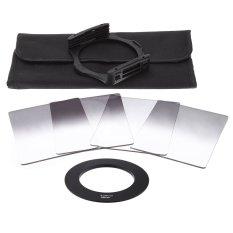 Andoer Gradual Graduated Neutral Density Resin Filter Set Graduated Filters 0.3ND 0.6ND 0.9ND 1.2ND 58mm Adapter Ring Square Filter Holder With Bag For DSLR Camera (Intl)