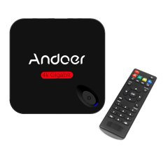 Andoer MXIII-G Android 5.1 TV Box Amlogic S812 Quad Core Cortex-A9 2G / 8G Kodi / XBMC / Miracast / DLNA H.26.4K * 2.2.4G 802.11b / G / N WiFi Mini PC Smart Media Player With Remote Controller