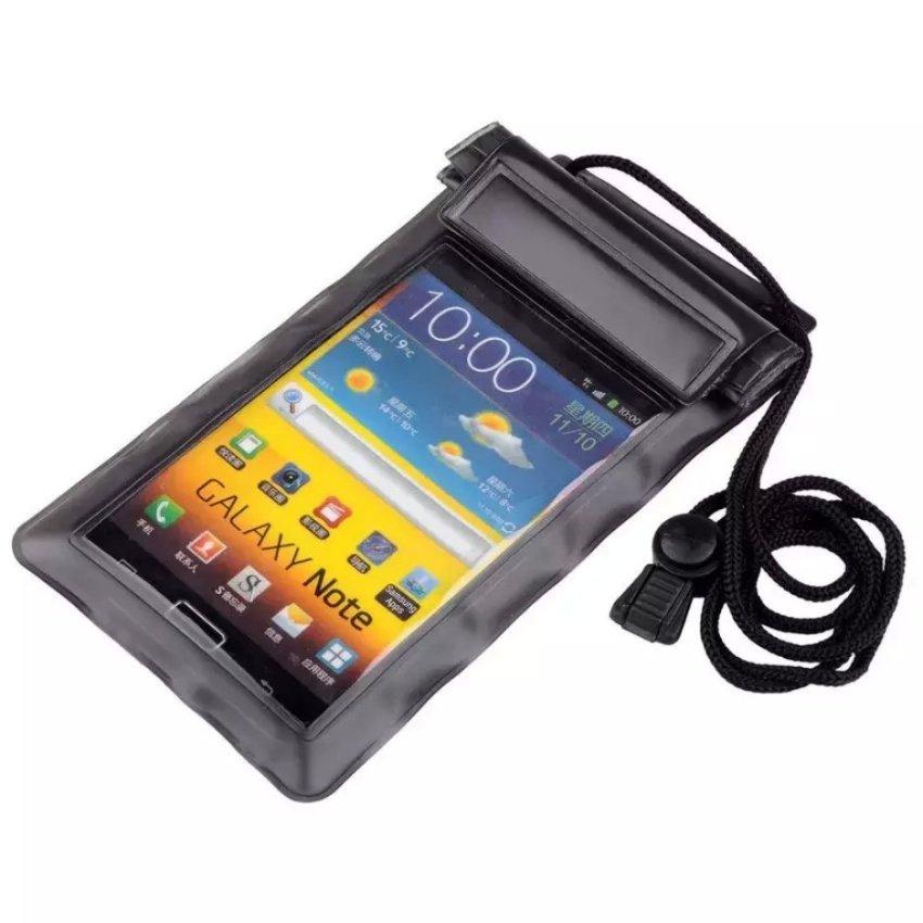 Aneka Sarung Pelindung Handphone Waterproof Bag for Smartphone - Hitam
