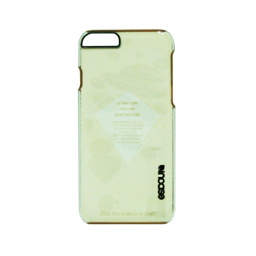 Anonymous Incase Clear Hardcase iPhone 6 Gold Border