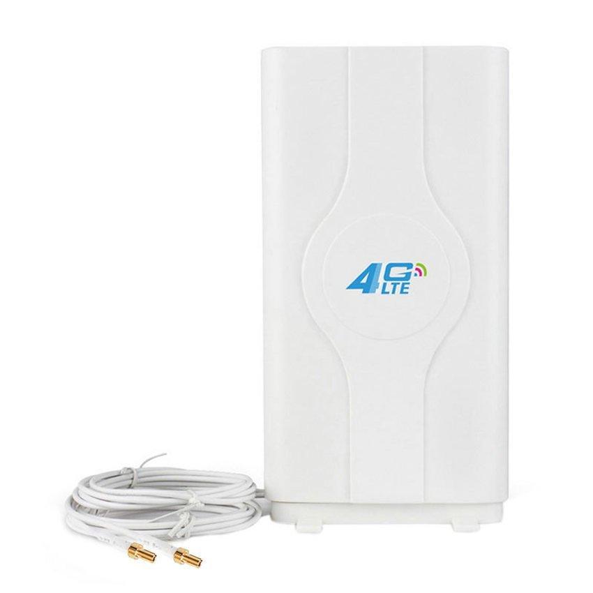 Antena Portable 45dBi Minimax G45 Penguat Sinyal 3G 4G LTE Untuk Modem Sierra 754s Double Pigtail - Putih