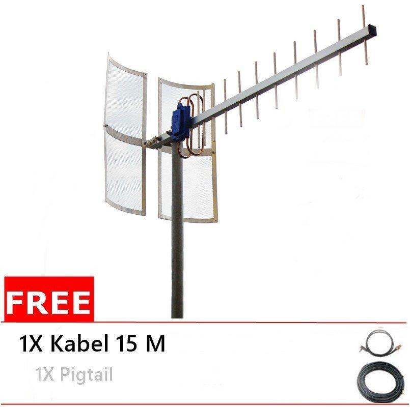 Antena Yagi 75dbi Modem  Sierra 754S High Extreme 4G LTE / 3G EVDO