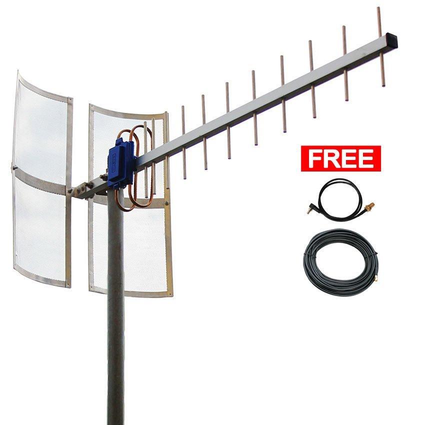 Antena Yagi 75dbi Modem  ZTE MF820 High Extreme 4G LTE / 3G EVDO