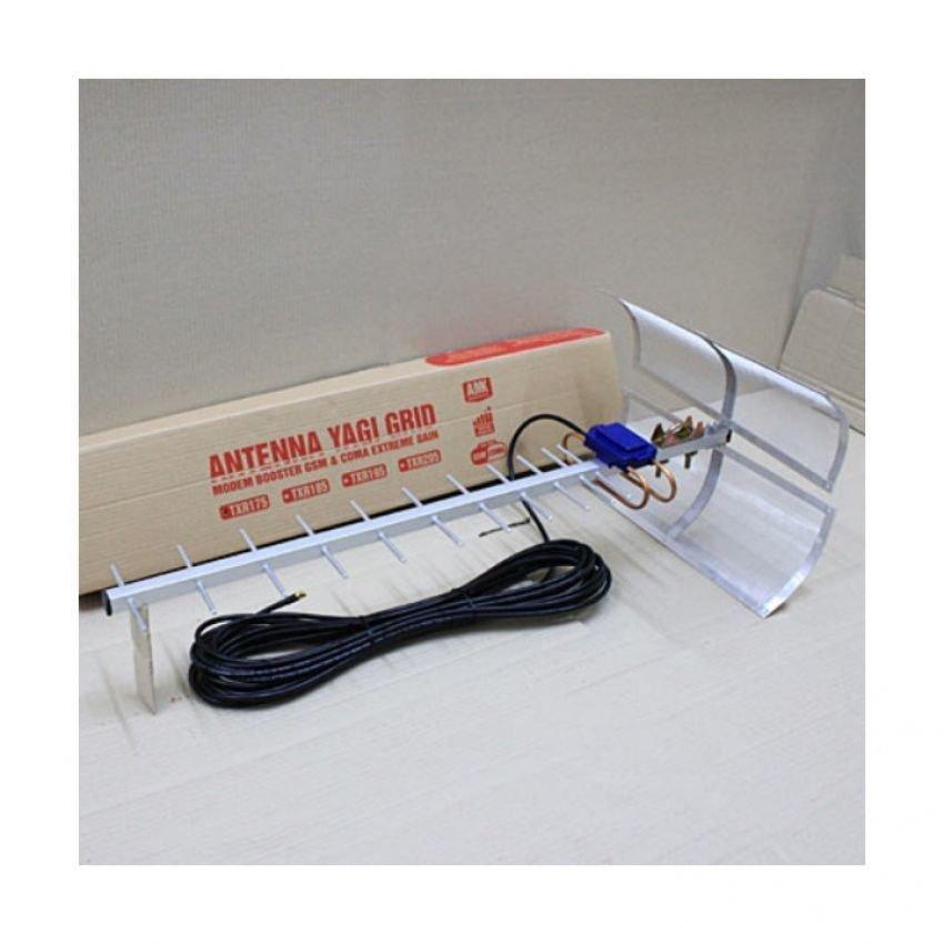 Antena Yagi Penguat Sinyal Modem Sierra 302 High Extreme 75dB Pigtail Original
