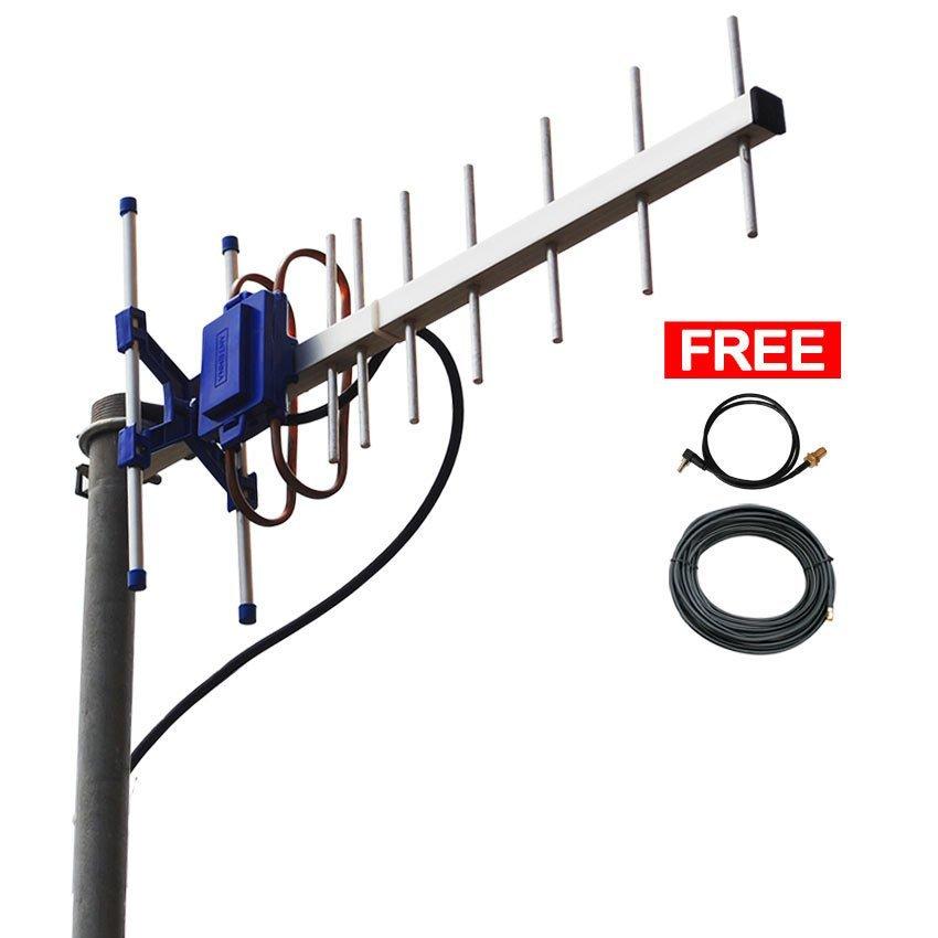 Antena Yagi Untuk Modem  Huawei E3372 High Extreme 4G LTE / 3G EVDO 45dBi