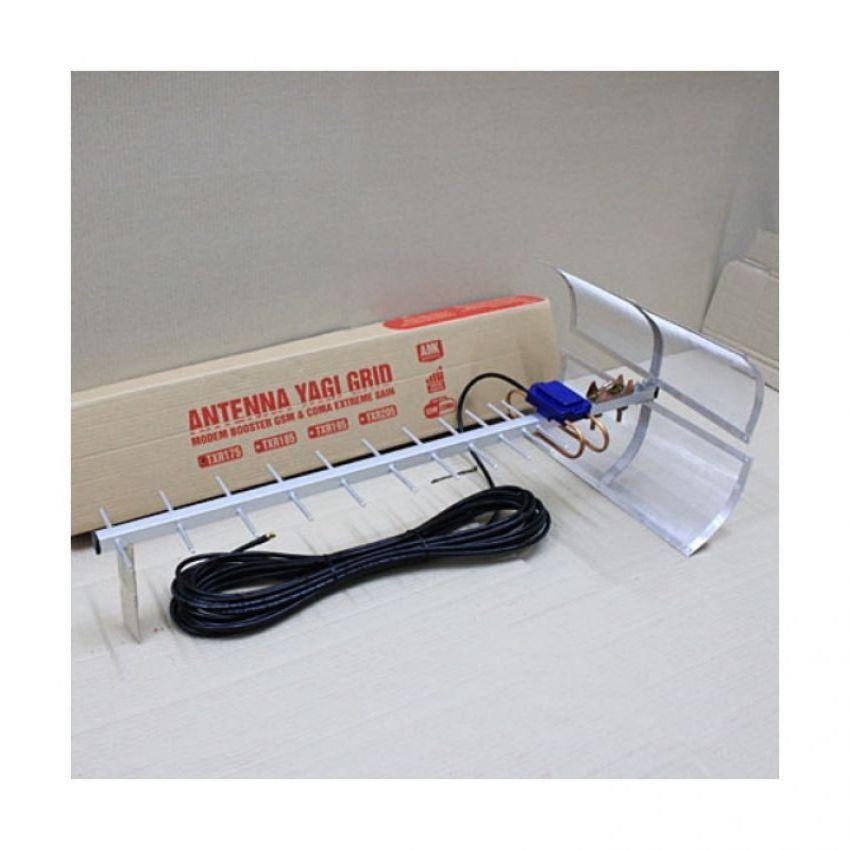 Antena Yagi Untuk Modem Huawei E5573 Penguat Sinyal 3G 4G - Silver