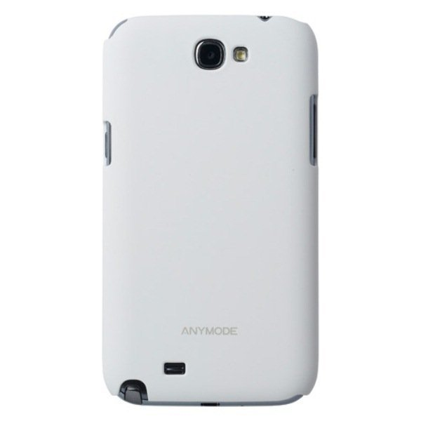 Anymode Hard Case for Galaxy Note 2 - White
