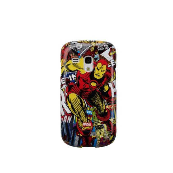 Anymode Marvel Hard Case - Samsung Galaxy SIII Mini - Iron Man