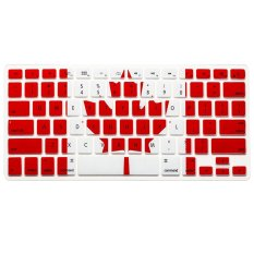 "AOXINDA Canada Flag Silicone Keyboard Cover Keyboard Skin Protector For All Apple MacBook Pro 13.15.17"" Aluminum Unibody - Intl"