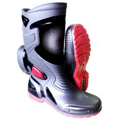 Ap Boot Sepatu Biker MOTO 3 - Hitam