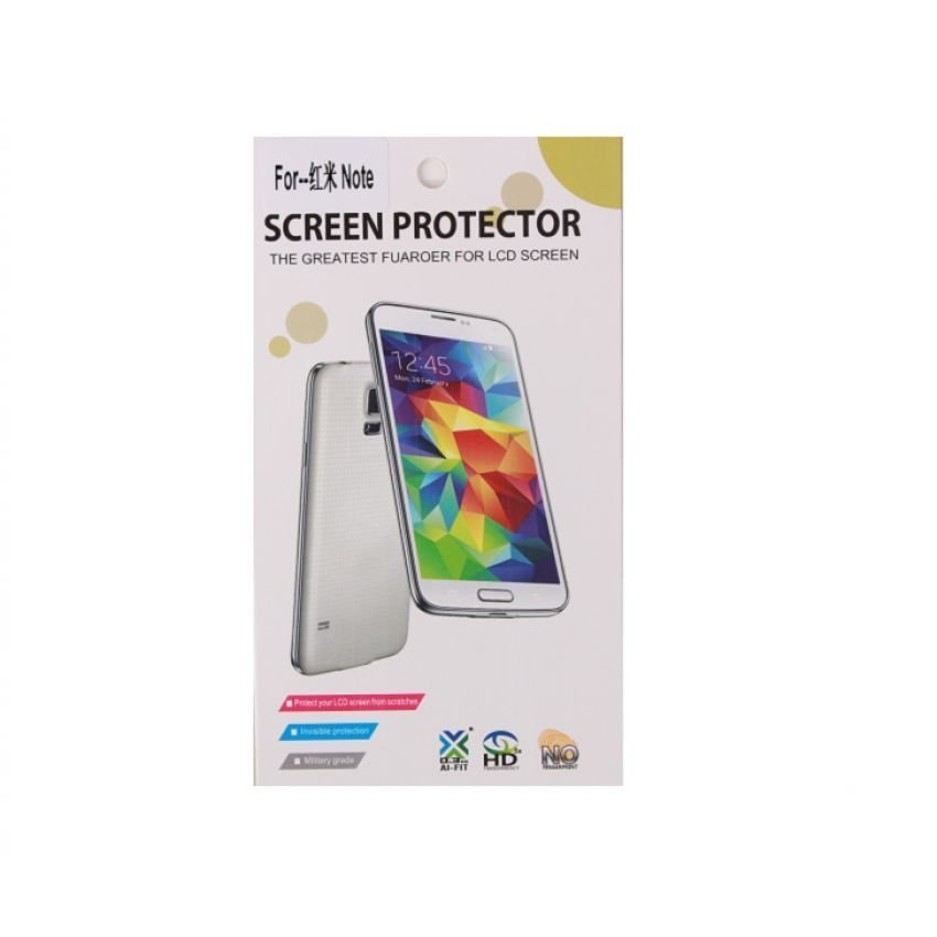 Apollo Clear Screen Guard Protector for Xiaomi Redmi Note