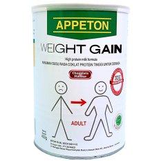 Appeton Weight Gain Adult - 900 gr - Kaleng Penyok