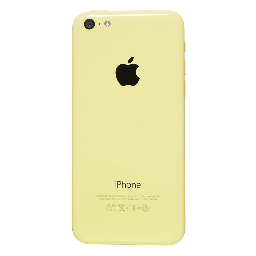 Apple iPhone 5C - 32 GB - Kuning - Grade A