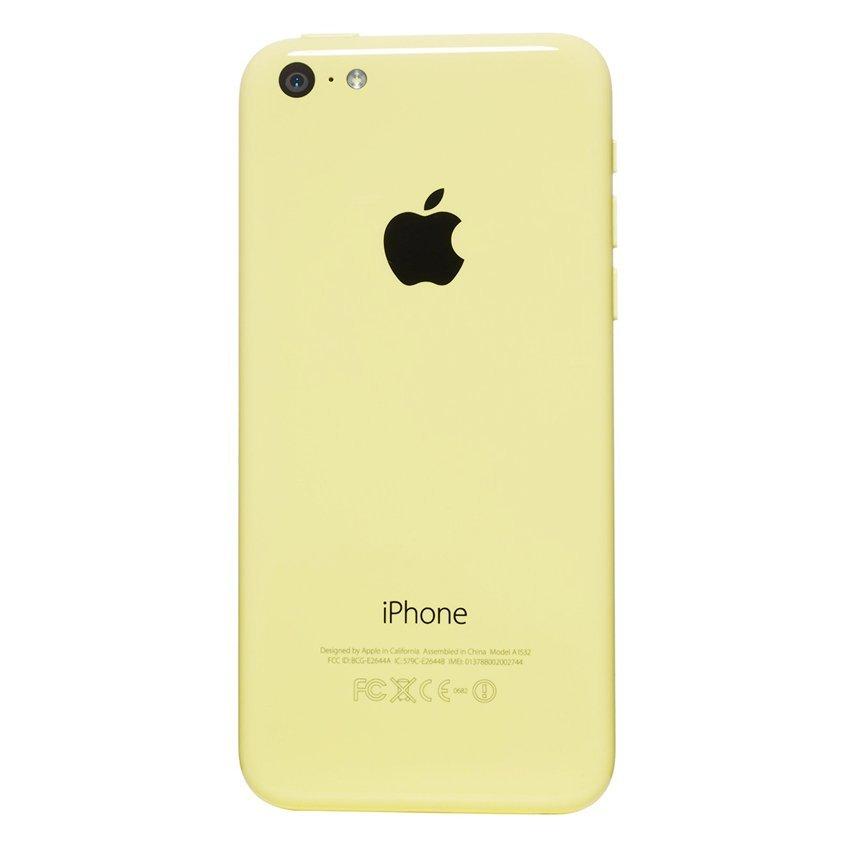 Apple iPhone 5C - 32 GB - Kuning - Grade A + Gratis Power Bank 20000mAH