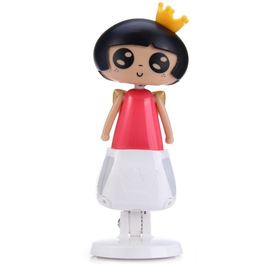 April Doll Car Holder with Rotation Design for 4.5 6.2 inch Phone GPS (Multicolor)