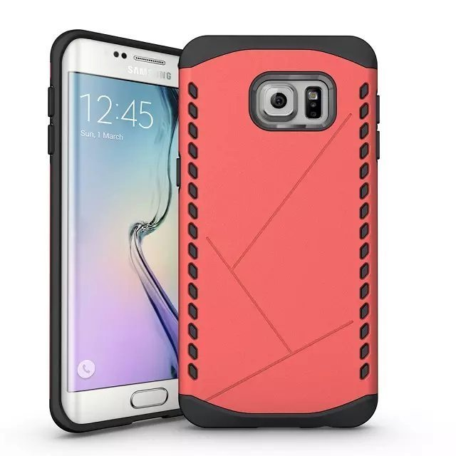 Armor Shockproof Case for Samsung Galaxy Note 5 (Red) (Intl)