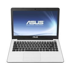 "Asus X553MA-SX825D - RAM 2GB DDR3 - Intel Celeron N2840 - 15.6"" - Putih"