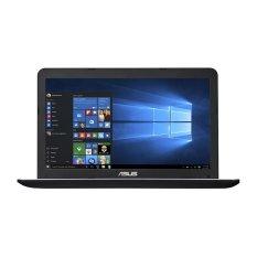 "Asus X555DG-XX133D - 15.6"" - AMD Quad Core A10-8700P - 4GB RAM - DOS - Hitam"