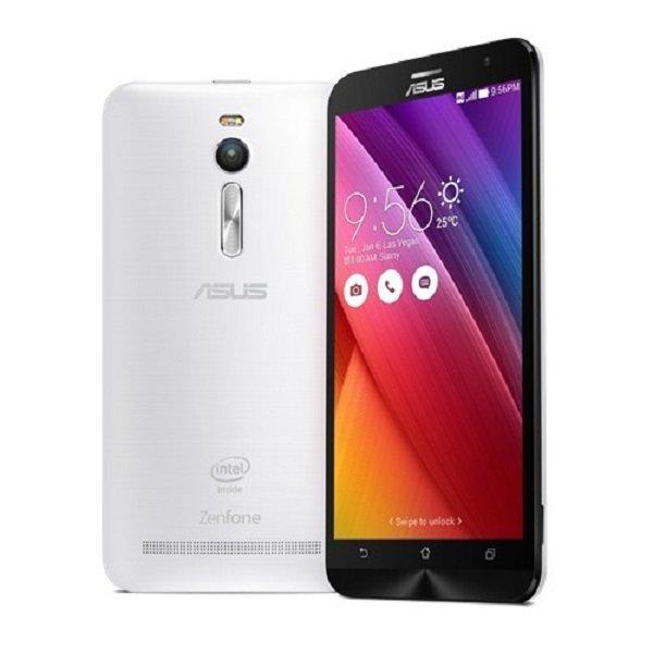 Asus Zenfone 2 Laser 3G - 16GB - Putih + Bonus Tempered Glass