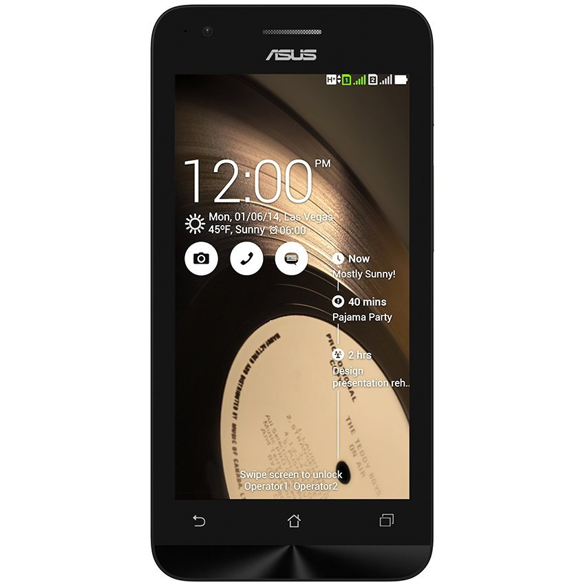 Asus Zenfone 4C - ZC451CG - RAM 1GB - 8GB - Hitam