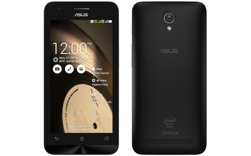 Asus Zenfone C ZC451CG - 8GB - Hitam + Bonus MMC 16GB