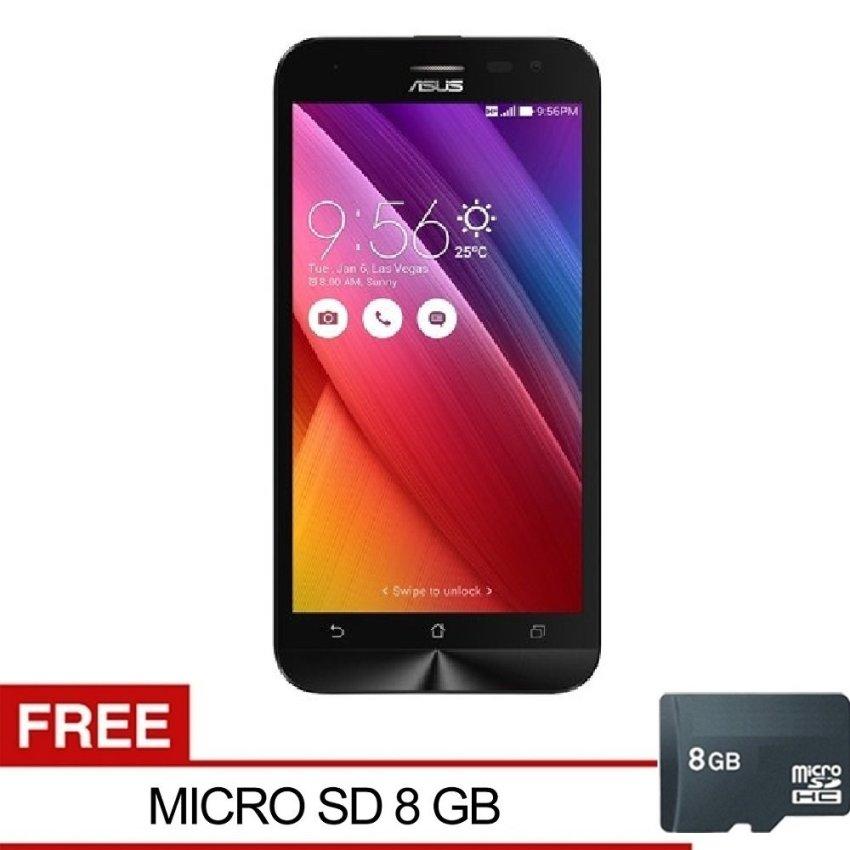 Asus Zenfone Go ZC500TG -2/ 8GB - Putih + Gratis Micro SD 8GB