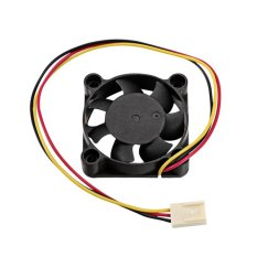 Azone 3 Pin Computer Laptop PC CPU Cooling Case Fan Cooler 40*40*10mm (Black) - Intl