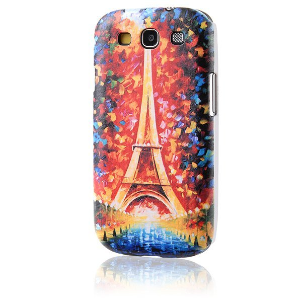 AZONE Eiffel Tower Print Back Case Cover for Samsung Galaxy S3 i9300 (Multicolor)