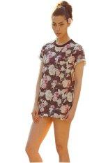 AZONE Fashion Printed Women Short Sleeve T-Shirts Summer Tops (Multicolor) - Intl