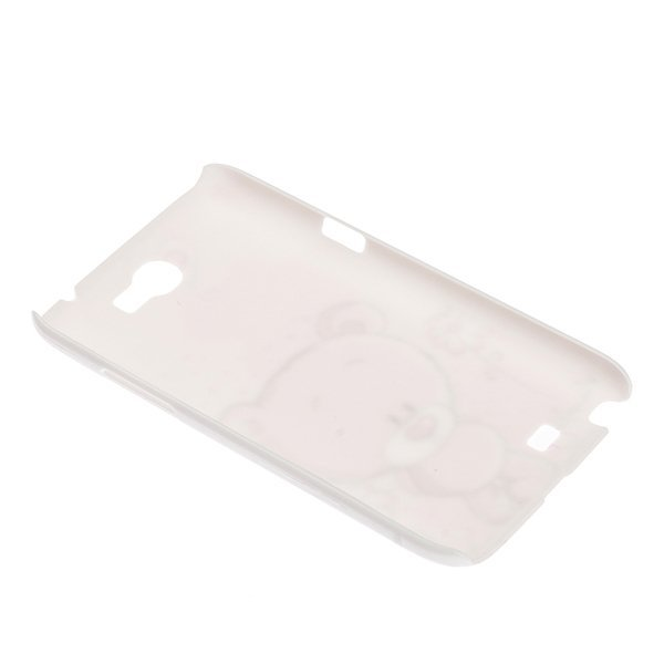 AZONE Sweet Bear Case Cover Skin for Samsung Galaxy Note 2 N7100 (Pink)