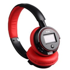 B380 Wireless Bluetooth Headset Headphone For Iphone 5.5 4.4g Ipad Cell Phone Tablet Pc V3.0 Stereo (Red) (Intl)
