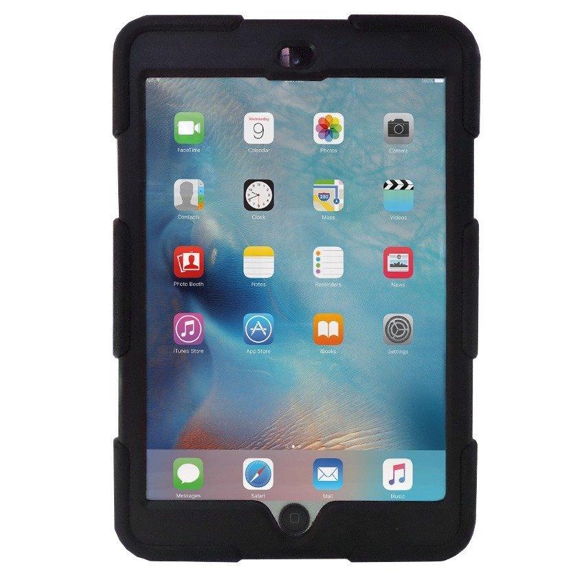 Back Case iPad mini 3 / mini 2 / mini / Mini With Kickstand Retina Display Case Tough Armor - Hitam