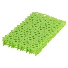 Bath Shower Safe Pad Set of 4 (Green)