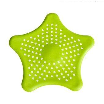bathroom basin shower drain cover starfish hair filter sink strainer stopper green intl. Black Bedroom Furniture Sets. Home Design Ideas