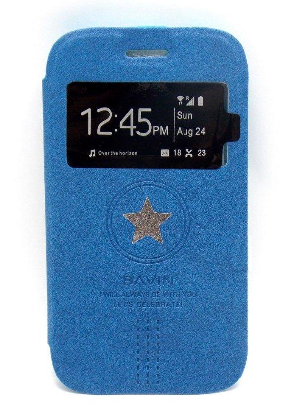 Bavin Flipcover LC Samsung Galaxy Core i8262 - Biru Tua