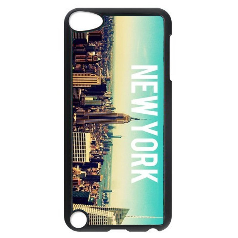 Beautiful New York City Pattern Phone Case for iPod Touch 5 (Black)